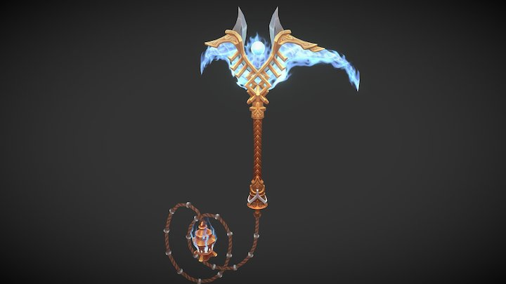 Aether Blade 3D Model