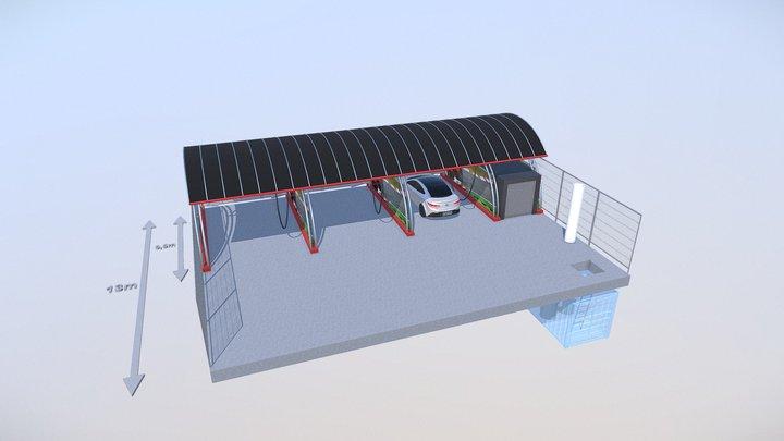 Spalatorie Auto 3D Model