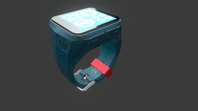 Wanderwatch_Robot Rebel_on 3D Model