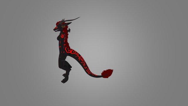 Oreloki Anthro 3D Model
