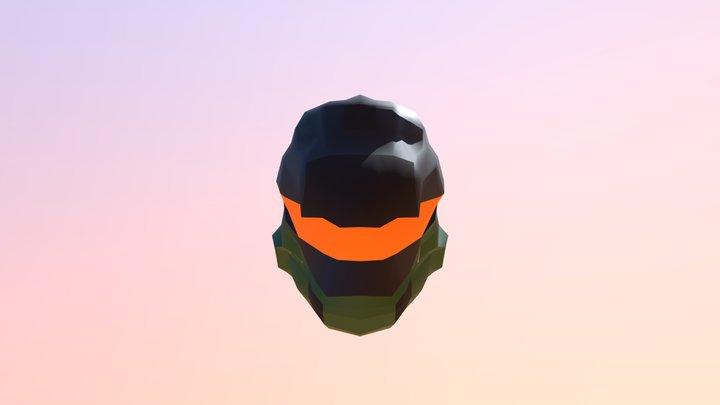 Master Chief Halo Helmet 3D Model