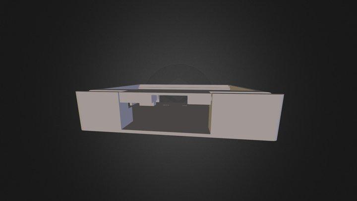 Gehäuse für LCD-Touch-Display 3D Model
