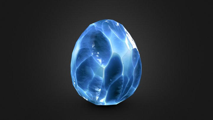 Dragon Egg - 14 3D Model