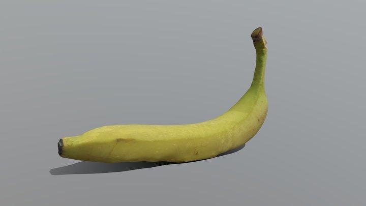 Banana Photogrammetry 3D Model