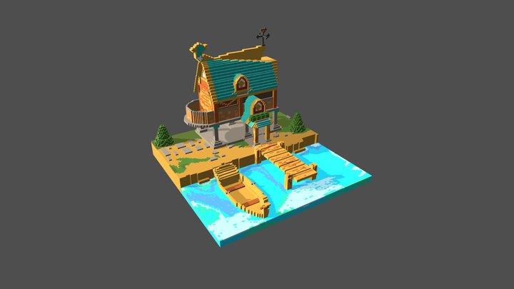 Mallard House 3D Model