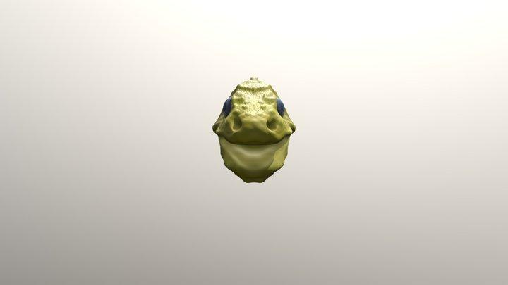 Day 1 SculptJan19 beast Deep Sea eel 3D Model