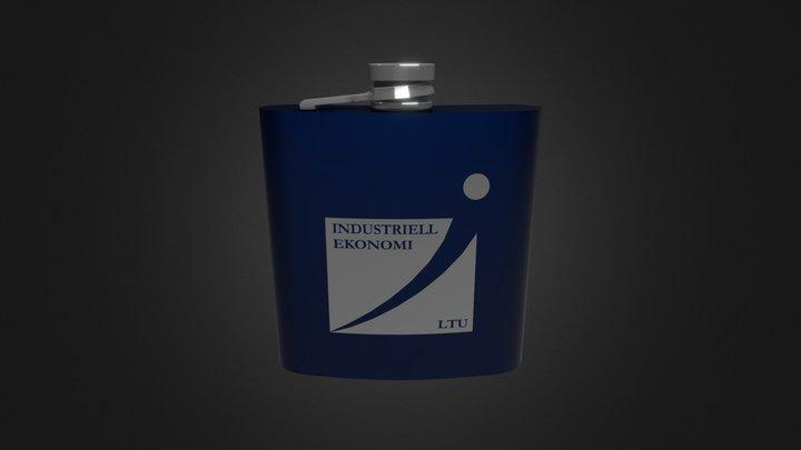 I-Hipflask2 3D Model