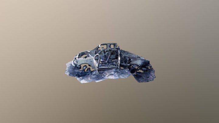 Mt Cheam Burnt Truck 3D Model