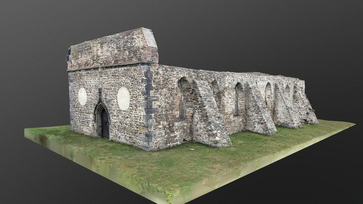 Remains of the Church of St. Prokop 3D Model