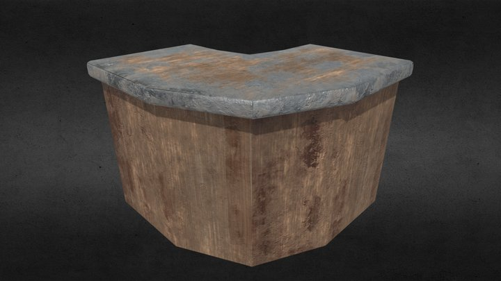 Counter Top Corner 3D Model