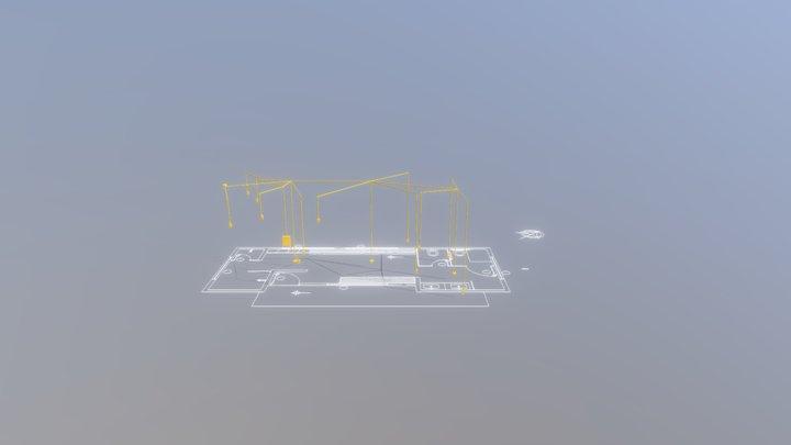 Export3D - VESTIARIO 3D Model