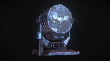 Bat-Signal 3D Model