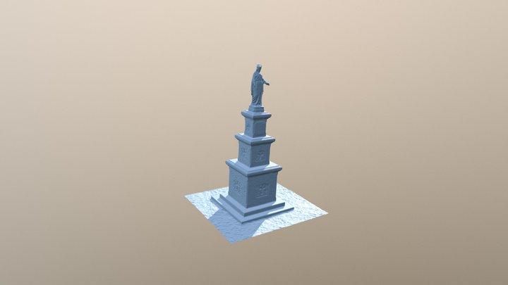 Notre Dame des Vignes 3D Model