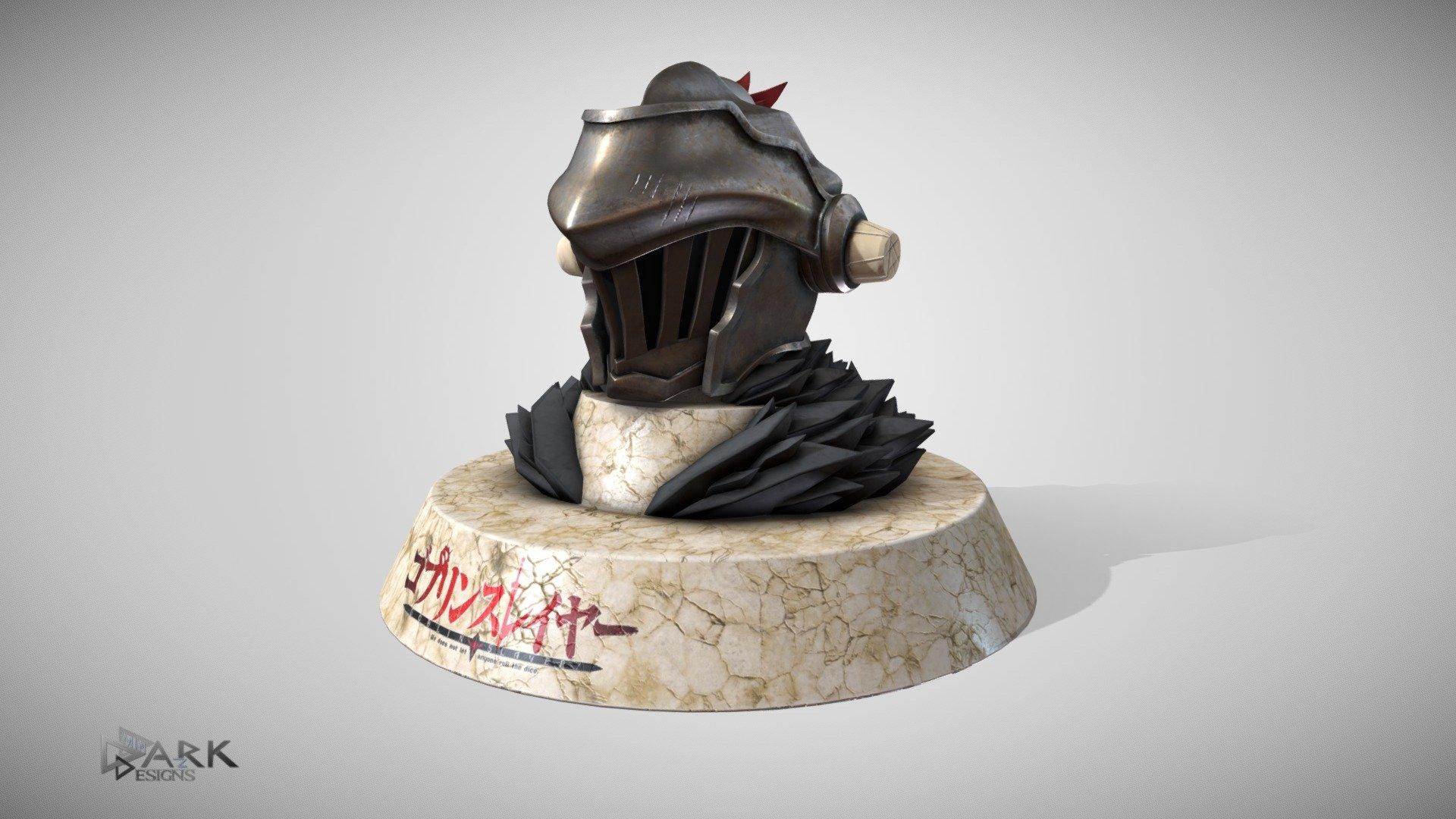 Orcbolg S Helmet Goblin Slayer 3d Model By Dark Minaz Dark