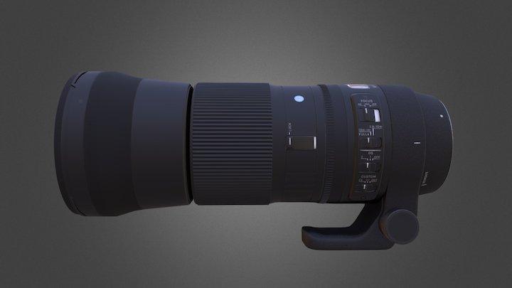 Sigma Lens 3D Model