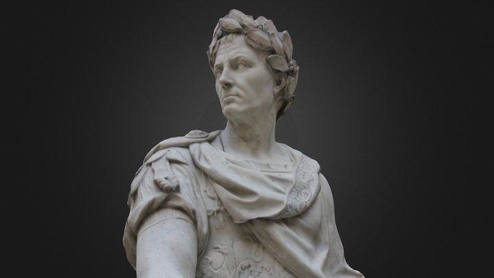 César - Louvre Museum 3D Model