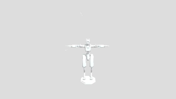 As of yet UNNAMED Robot 3D Model