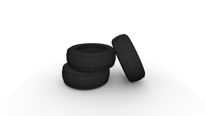 Tyre A 3D Model