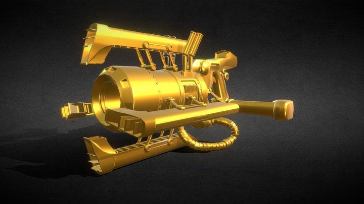 Ratchet And Clank Gun 3D Model