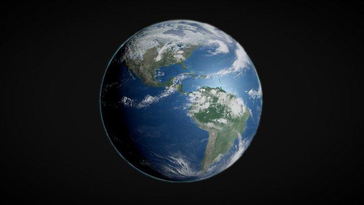 Earth | Terra - Downloadable model 3D Model