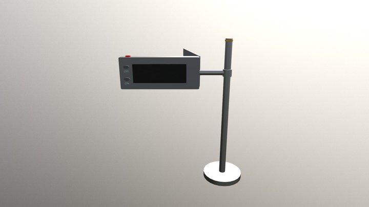 Device Open 3D Model