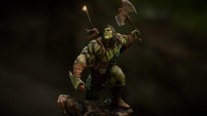 Skaar- Son Of Hulk 3D Scan From Youtube Video 3D Model