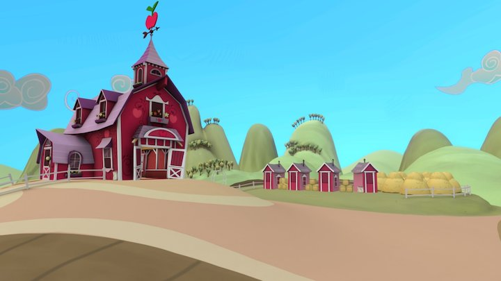 Sweet Apple Acres 3D Model