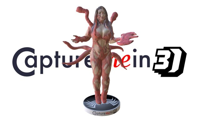 Sofia Sivan as Carnage from Comic Con 2015 NY 3D Model