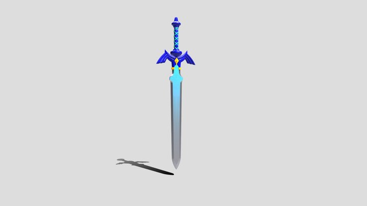 MasterSword 3D Model