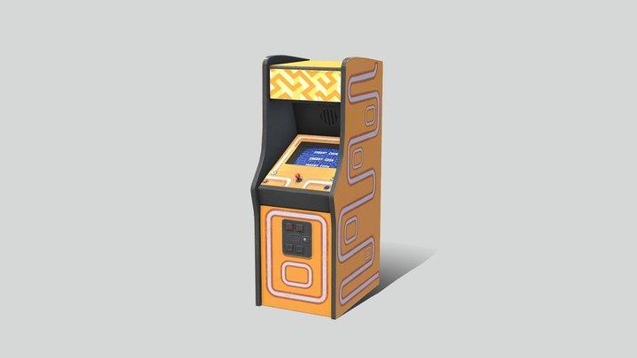 Acade Cabinet 03 - Retro Lord 3D Model