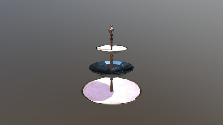 Compulsory 2 Platetower 3D Model