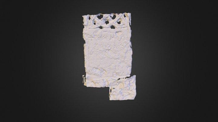 3D Model of Hackness Cross/ 3D Scanner / SmDuffy 3D Model