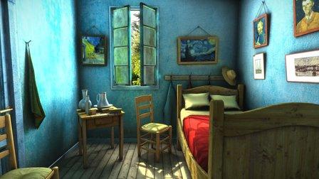 Van gogh Room 3D Model