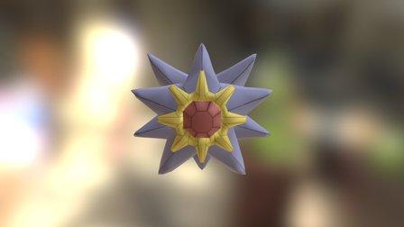 Starmie 3D Model