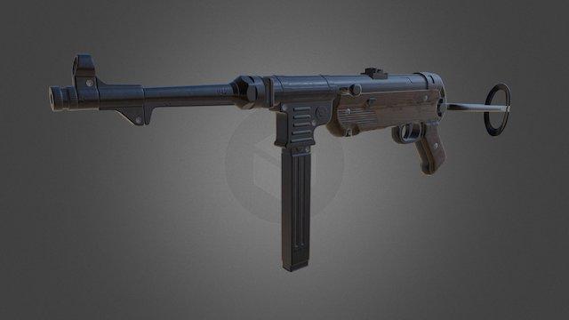MP40 3D Model