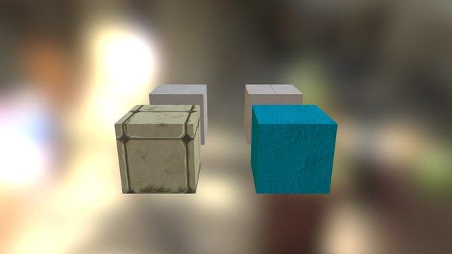 Baths Materials 3D Model