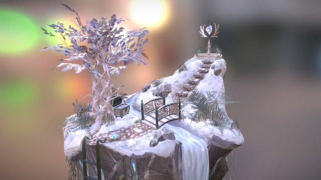 Crystal Cove 3D Model