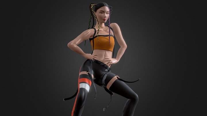 Yeji from Itzy -Dancing Icy song 3D Model