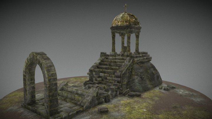 Ruin Diorama 3D Model