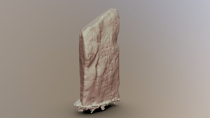Avebury, The Cove, Stone I bare 3D Model