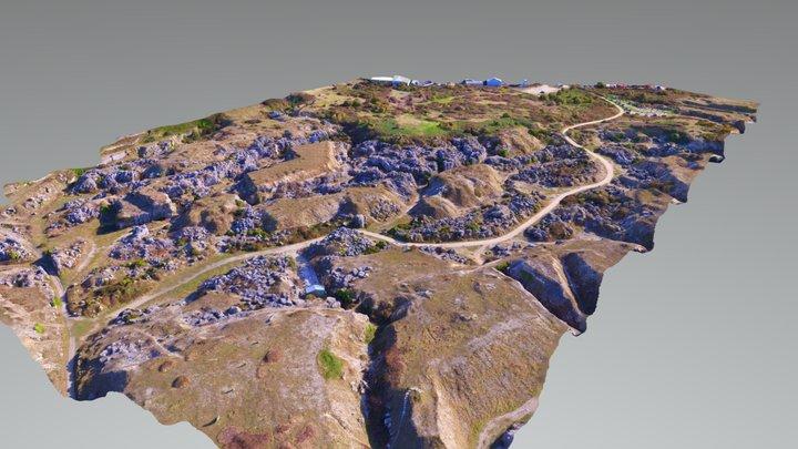 Tout Quarry, Portland 3D Model