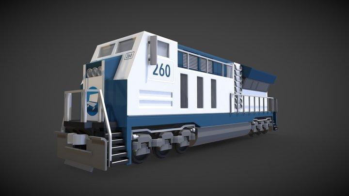Blockbench Locomotive