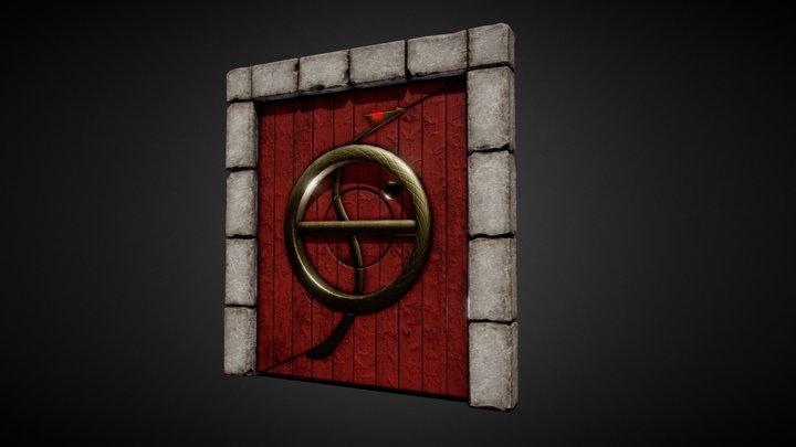 Doors to the Dagger - Tomb Raider II 3D Model