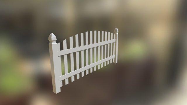 Tall fence 2 3D Model