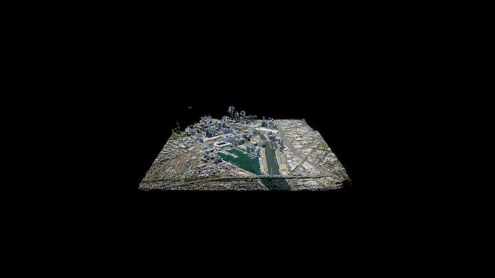 Docklands Victoria Harbour 3D Model