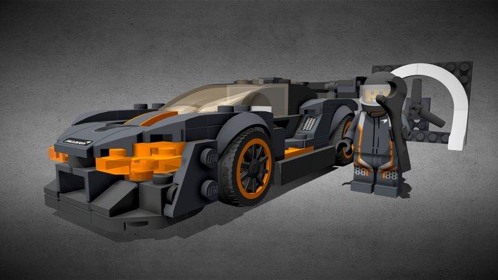 LEGO MCLAREN SENNA - 75892 3D Model