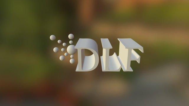 DLF Logo 3D Model