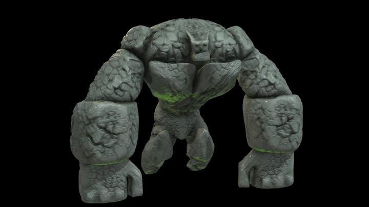 Ricky The Golem 3D Model