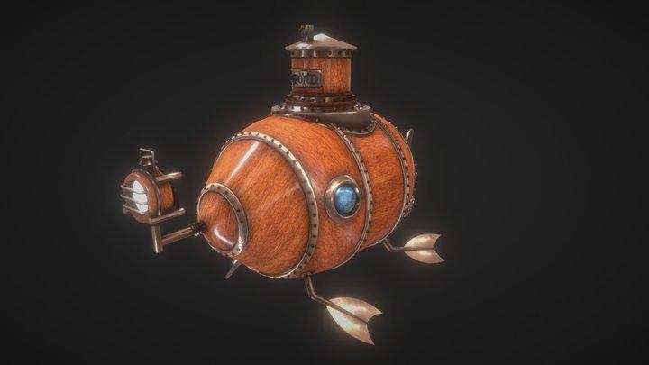 Submarine - Sword 3D Model