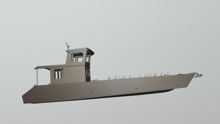 3D Модель Фактория 1200 3D Model